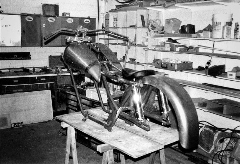 Einer der ersten Gragenaufnahmen mit einem Motor Gucci Umbau